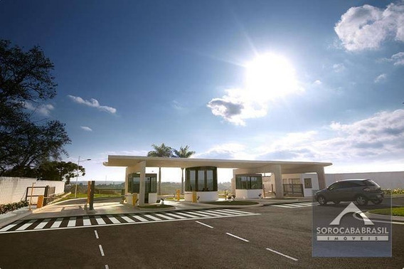 Terreno À Venda, 1000 M² Por R$ 610.000,00 - Condomínio Residencial Saint Patrick - Sorocaba/sp - Te0051