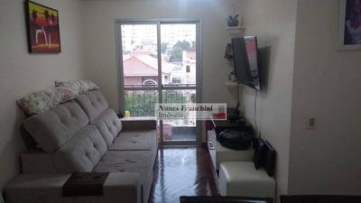 Parque Mandaqui - Zn/sp - Apartamento 59m², 2 Dormitórios, 1 Suíte, 2 Vagas Por R$ 345.000,00 - Ap7156