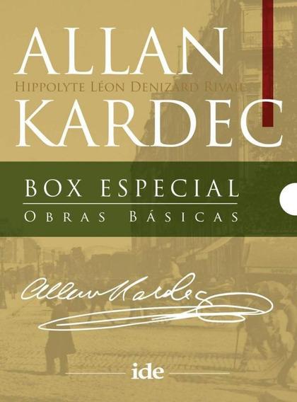 Box Especial Obras Basicas - Allan Kardec - Ide