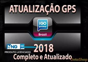 Pacote De Atualizaçao Igo My Way Com Mapas 2018/2019
