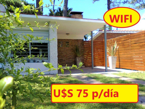 U$s 75 P/día C/wifi A 1 Cuadra Del Shopping Y 2 Del Mar