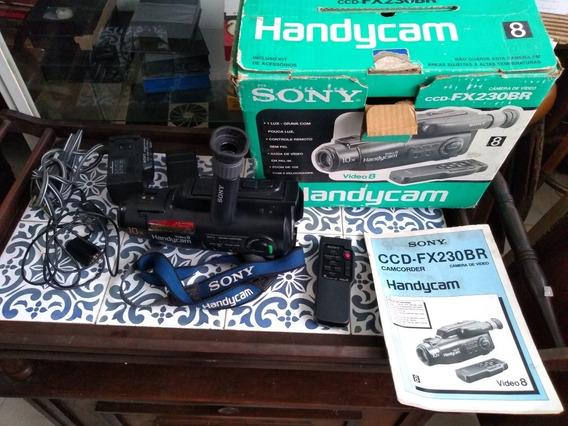 Câmera Sony Vídeo 8. Ccd-fx230br