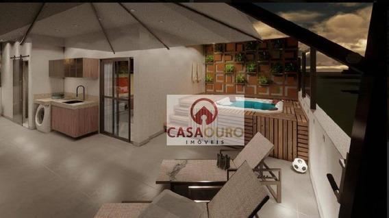 Cobertura Com 2 Suites À Venda, 144 M² - Serra - Belo Horizonte/mg - Co0231
