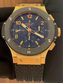 Hublot Big Bang 44mm Ouro Rosa / Cerâmica , Completo!