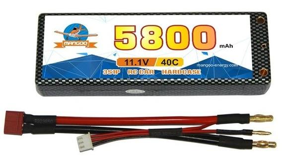 Batería Lipo Litio 11.1v 5800mah 40c Drones Aviones Auto Rc
