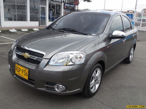 Chevrolet Aveo Emotion Gti Mt 1600 Cc 3p Sa