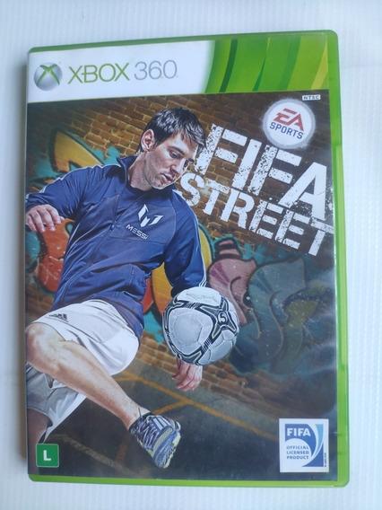 Fifa Street Xbox 360 Original Semi Novo Midia Fisica
