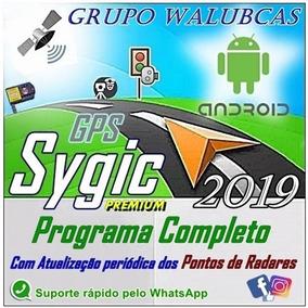 Gps Sygic 18.1 Premium = Programa Compl E Atualizado 6/2019