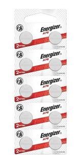 10 Pilas Lr44 Energizer Alcalinas 1.5v A76 Ag13 P/ Juguetes