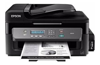 Impresora multifunción Epson WorkForce M205 con wifi 220V negra