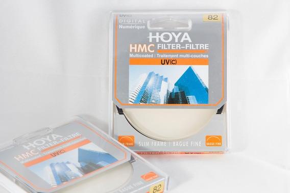 Filtro Uv Hmc Hoya Original 82mm Para Lente Canon Nikon Sony