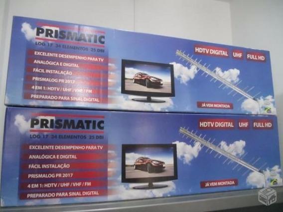Antena Externa Log 17 Prismatic - Digital