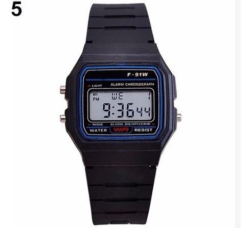 Reloj F91w Negro Mujer O Niño