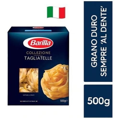 Imagen 1 de 2 de Fideos Italianos Pasta Barilla Tagliatelle 500g E.grati Caba