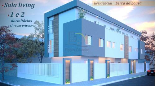 Apartamento Com 2 Dorms, Vila Voturua, São Vicente - R$ 239 Mil, Cod: 3052 - V3052