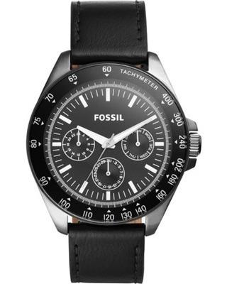 Relógio Fossil Masculino Preto Bq2293 Importado Eua