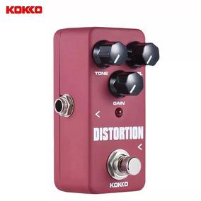 Mini Pedal Para Guitarra Distortion Kokko