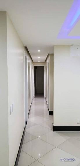 Apartamento Garden Com 4 Dormitórios À Venda, 70 M² Por R$ 560.000 - Campo Grande - Rio De Janeiro/rj - Gd0006