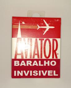 Mágica Baralho Invisível Aviator C/vídeo Explicativo