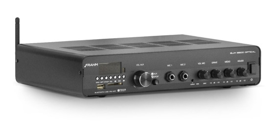 Amplificador Receiver Som Ambiente Frahm Slim 3200 Optical