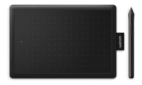 Tableta digitalizadora Wacom One Small black y red