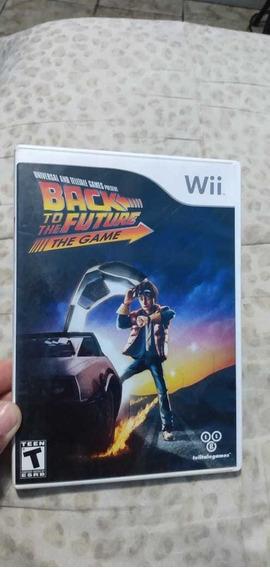 Jogo Back To The Future The Game Original Para Wii