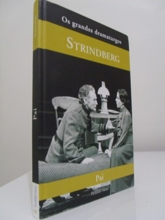 Livro - Pai - August Strindberg - Seminovo!