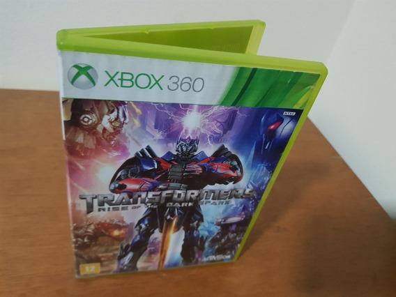 Transformes Rise Of The Dark Spark Usado Xbox 360 Midia Físi