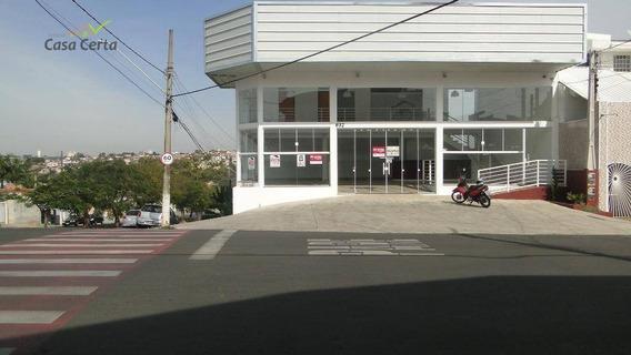 Salão Comercial Para Locação, Jardim Planalto, Mogi Guaçu. - Sl0044