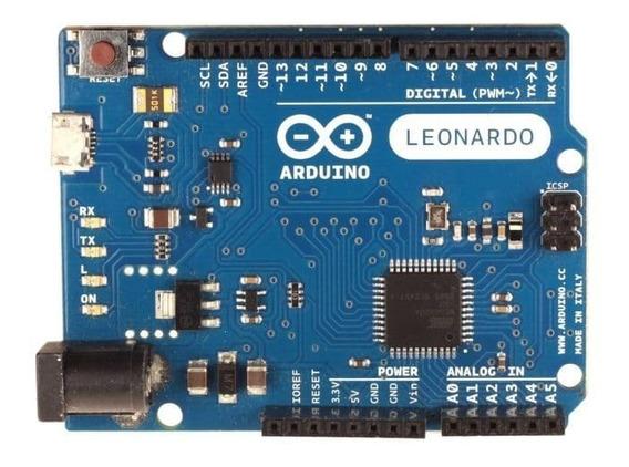 Arduino Leonardo R3 Com Cabo Usb