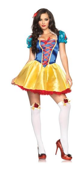 Disfraz Blanca Nieves Sexy Disney Leg Avenue Mujer Dama