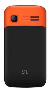 DL YC-230 Dual SIM 32 MB Preto/Laranja 32 MB RAM