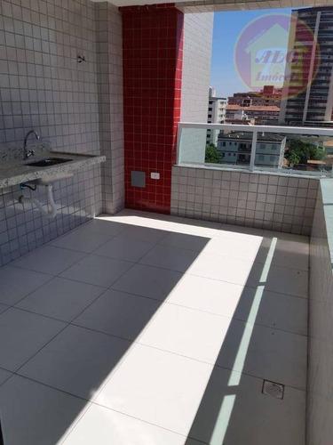 Cobertura À Venda, 101 M² Por R$ 1.350.000,00 - Vila Assunção - Praia Grande/sp - Co0059
