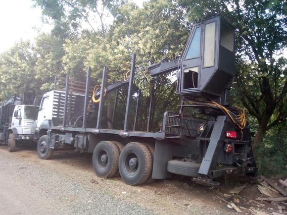 3344 Transtora Com Grua Florestal Tmo 7.70 Leia O Anuncio!!!