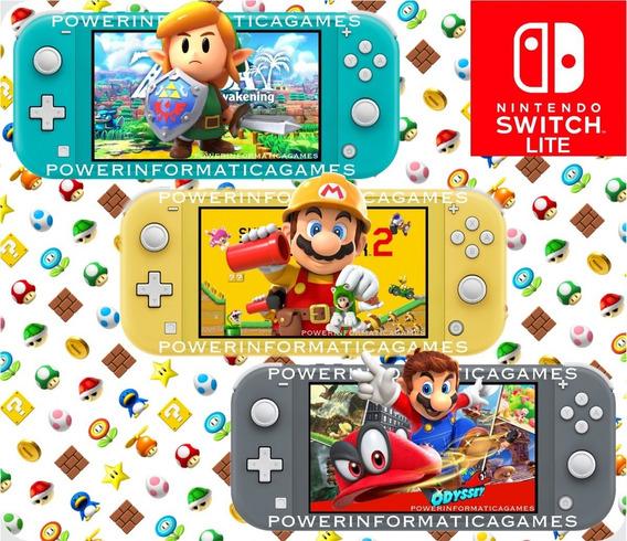 Nintendo Switch Lite 32gb Pronta Entrega Novo Varias Cores