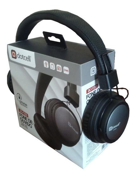 Fone De Ouvido Bluetooth - Dotcell Dc-f350 - Top Original