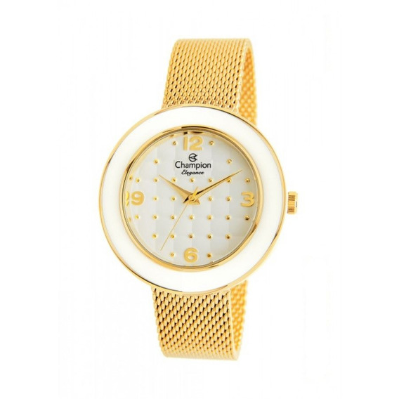 Relógio Champion Analógico Feminino Cn25985h Dourado