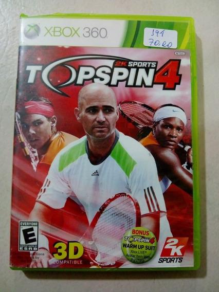 Top Spin 4 Xbox 360 Mídia Física