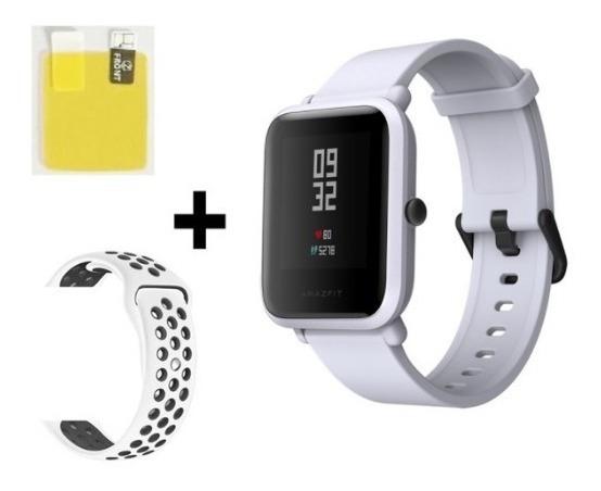 Relógio Amazfit Bip Xiaomi - Gps + Pulseira Extra +película