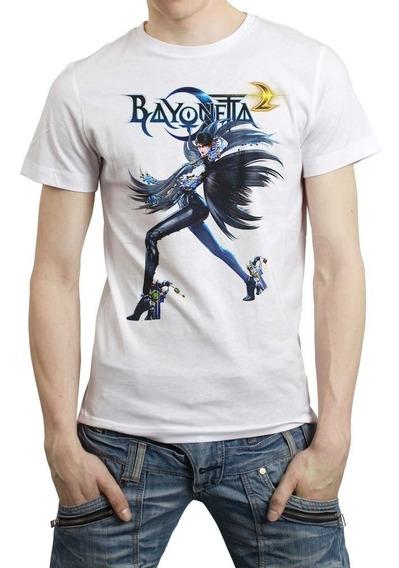 Bayonetta 2 Playera Playstation Xbox 03