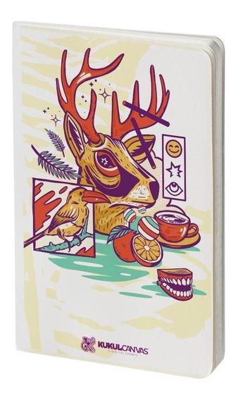 Cuaderno De Dibujo Ecológico The White Book Venado - S018
