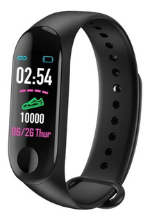 Reloj Inteligente Smartwatch M3 Smartband Ritmo Cardiaco .