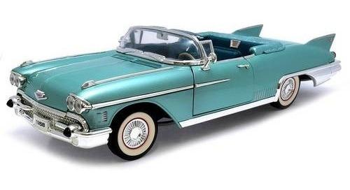 1958 Cadillac Eldorado Biarritz Verde Escala 1:18 - Yat Ming