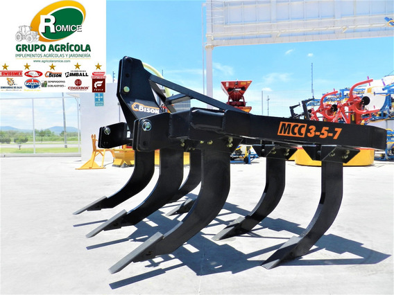 Subsuelo Multicultivador Agricola 7 Puntas Bison Mcc-3/5/7