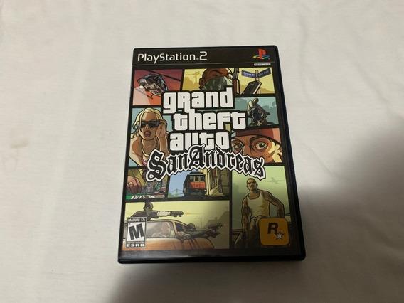 Grand Theft Auto San Andreas Ps2 Original Americano Completo