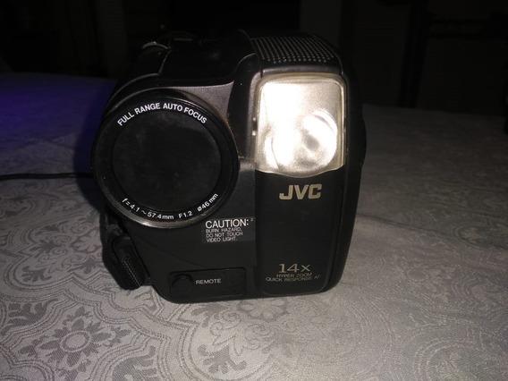 Câmera Jvc Compact Vhs Camcorder Gr-ax827 E Kit