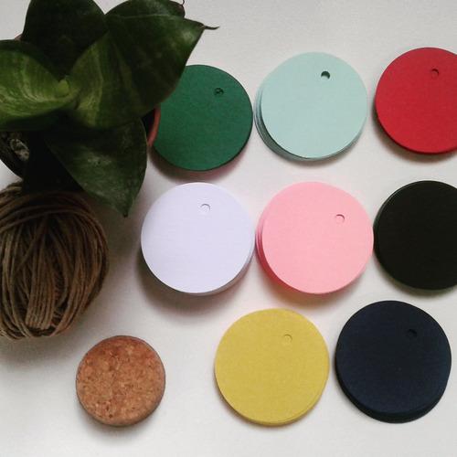 Etiquetas De Colores 100 Unidades Surtidas