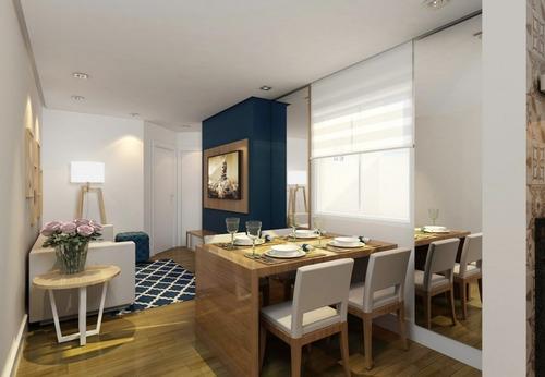 Imagem 1 de 10 de Apartamento 2 Quartos Santo Andre - Sp - Vila Scarpelli - Rm21ap