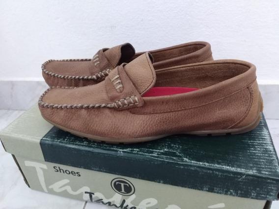 Zapatos Nauticos Unisex Cuero Legitimo