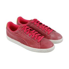 Usado Original Puma Basket Rosa Envelhecido 45 46br 13us